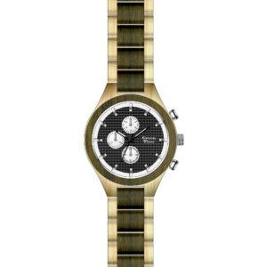 Orologio Cronografo Uomo in Legno Green Time ZW101B