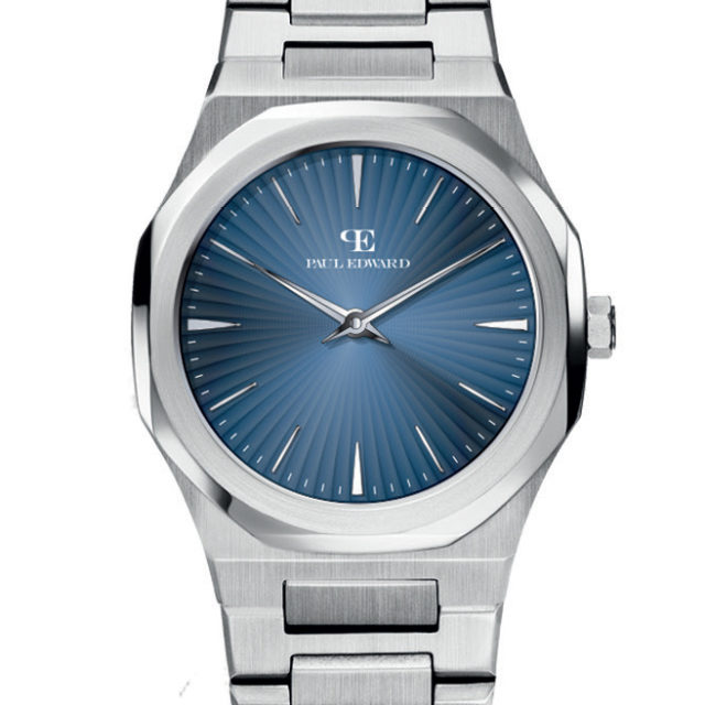 Orologio Donna Paul Edward Swiss Re Building Blu